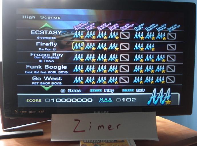 DDR Extreme: Firefly [Single/Beginner] 10,000,000 points