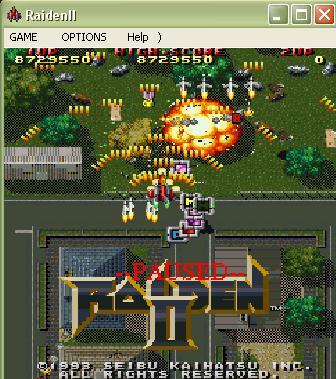 Zimer: Raiden II (PC) 8,729,550 points on 2014-07-09 09:18:59