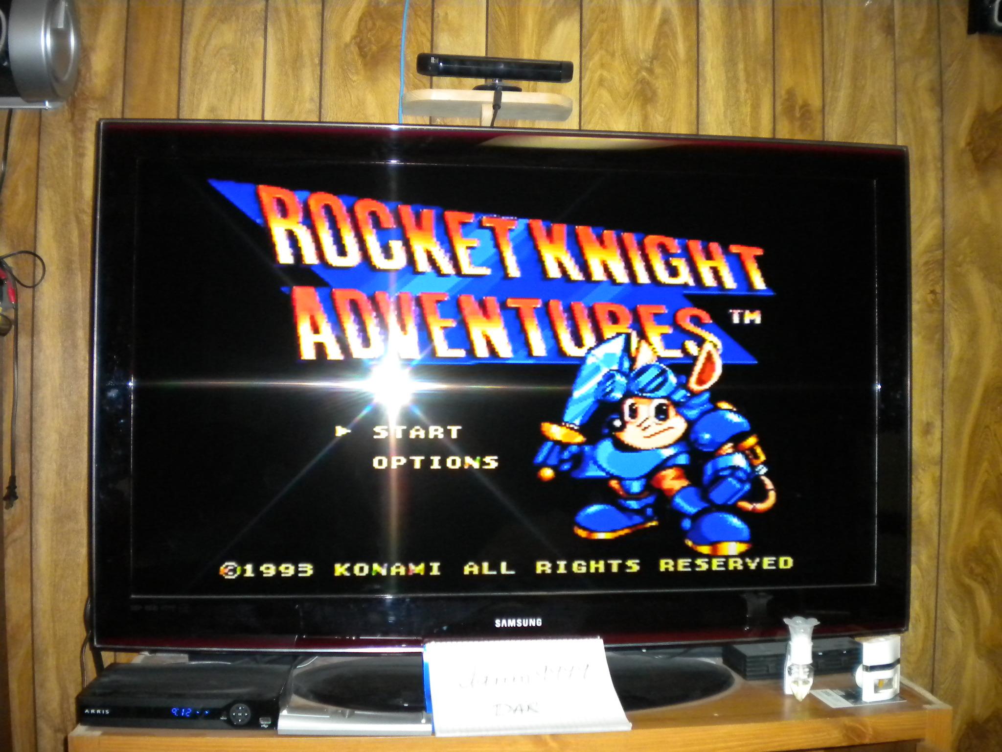 Rocket Knight Adventures [Normal] 52,900 points