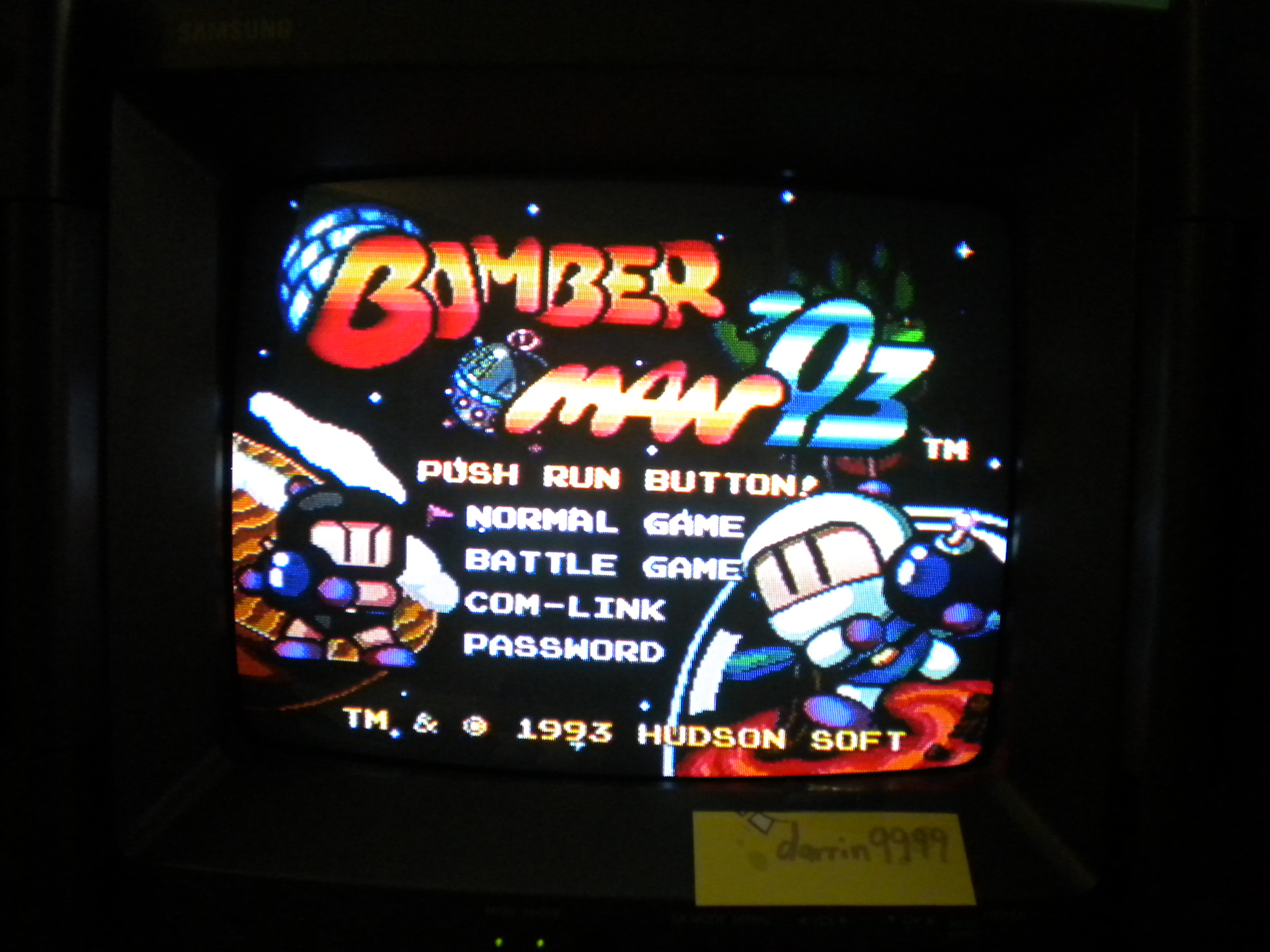 Bomberman 93 [Normal] 11,300 points