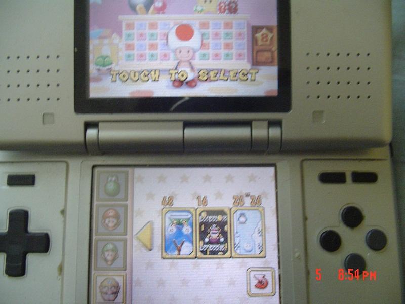 Super Mario 64 DS: Intense Coincentration 16 points