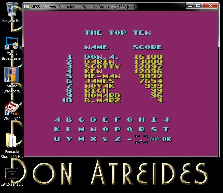 DonAtreides: Bad Street Brawler (NES/Famicom Emulated) 16,100 points on 2014-07-10 19:22:37