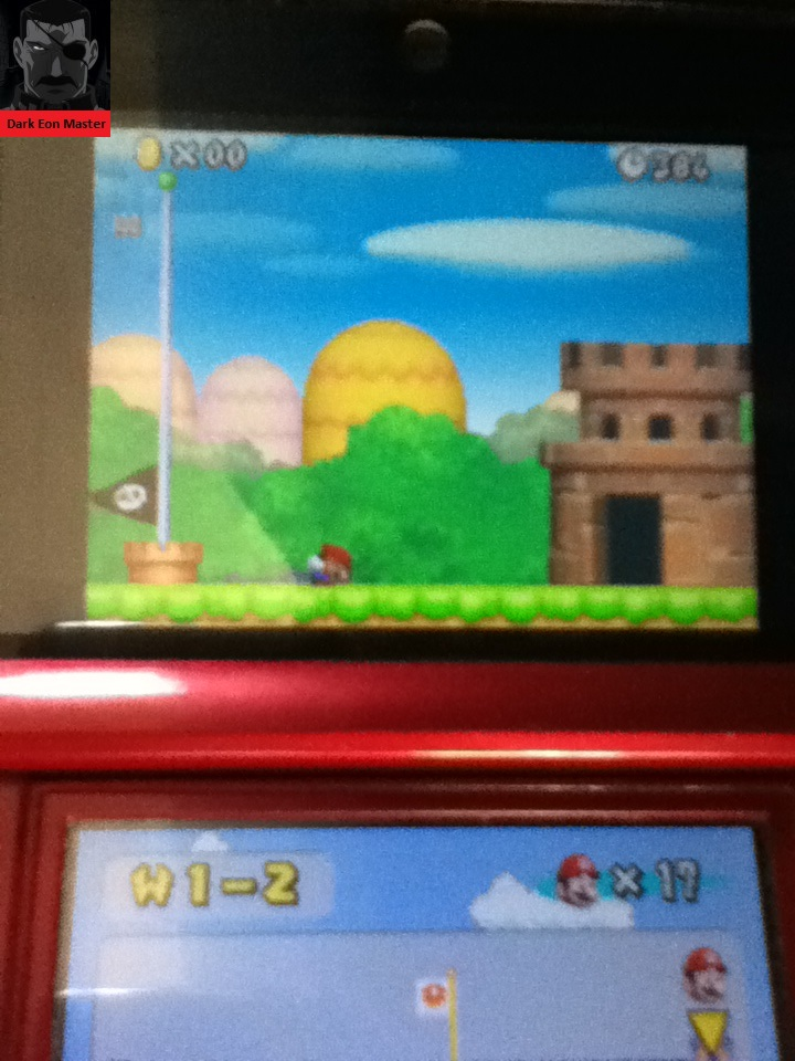 DarkEonMaster: New Super Mario Bros.: World 1-2 [Remaining Time] (Nintendo DS) 384 points on 2014-07-10 19:30:25
