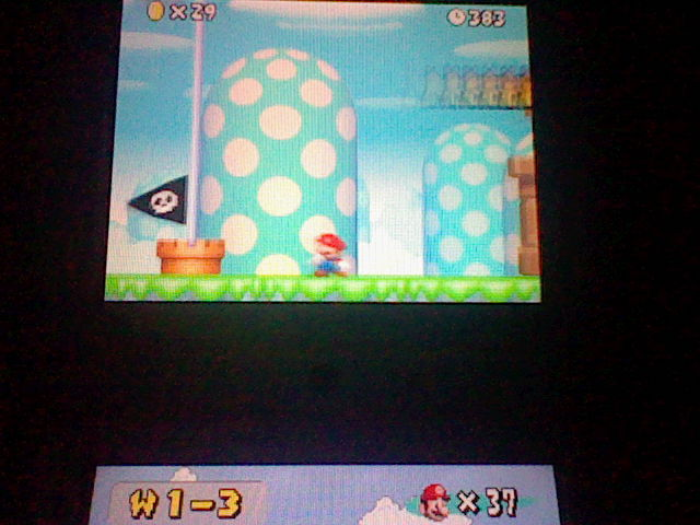 DarkEonMaster: New Super Mario Bros.: World 1-3 [Remaining Time] (Nintendo DS) 383 points on 2014-07-10 19:32:14