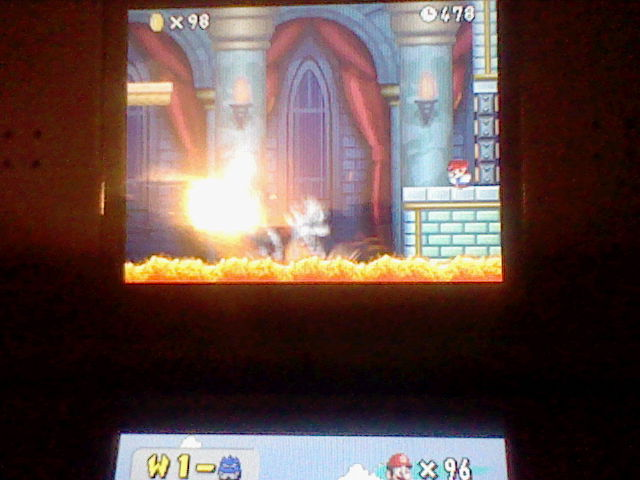 DarkEonMaster: New Super Mario Bros.: World 1-Castle [Remaining Time] (Nintendo DS) 478 points on 2014-07-10 19:35:22