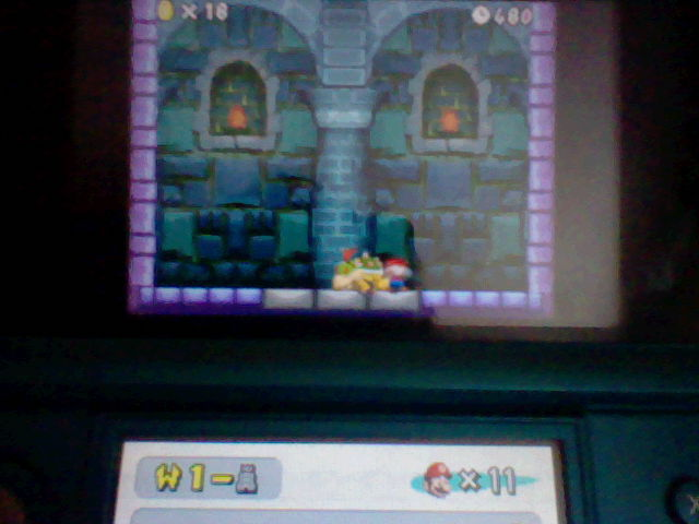 DarkEonMaster: New Super Mario Bros.: World 1-Tower [Remaining Time] (Nintendo DS) 480 points on 2014-07-10 19:36:10