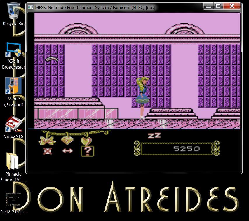 DonAtreides: Barbie (NES/Famicom Emulated) 5,250 points on 2014-07-10 19:44:57