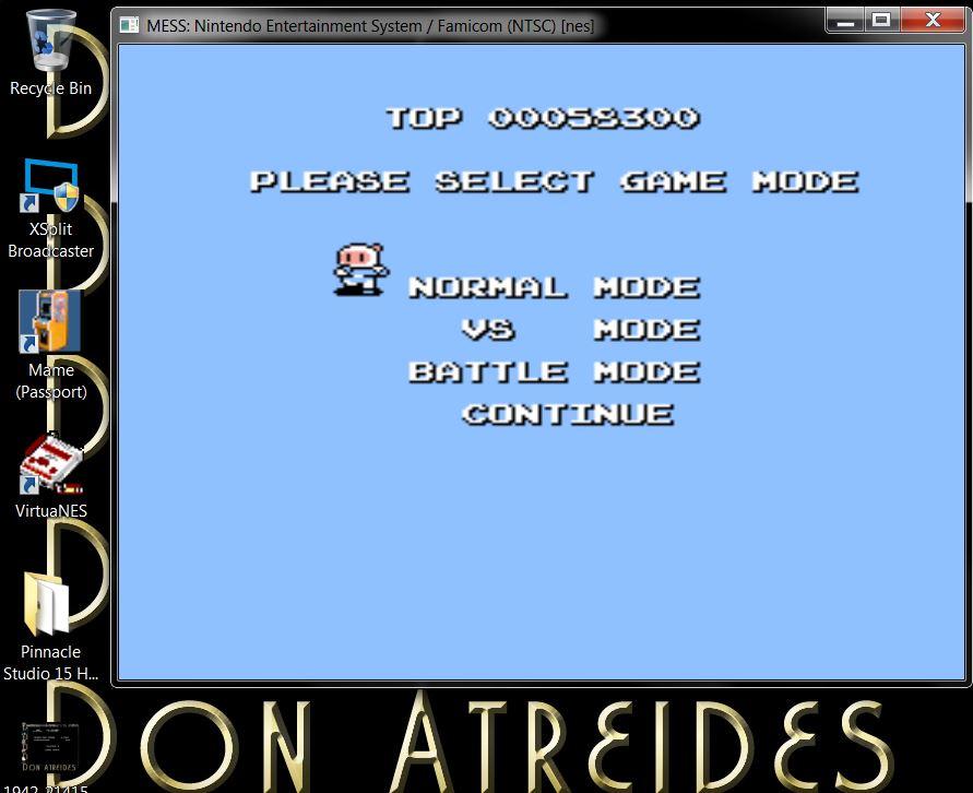 DonAtreides: Bomberman II [Normal Mode] (NES/Famicom Emulated) 58,300 points on 2014-07-10 20:25:04