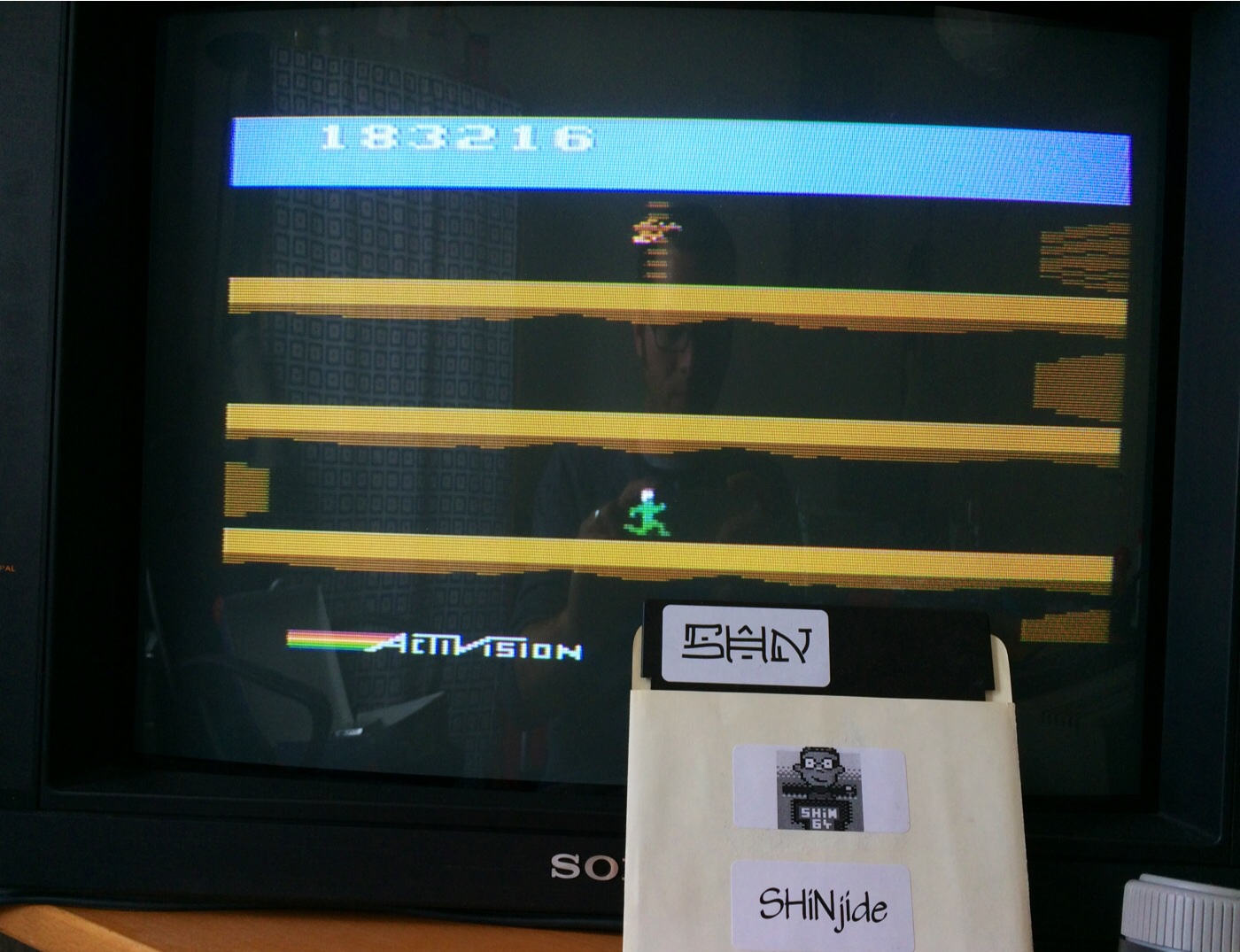 SHiNjide: Pitfall II: Lost Caverns (Atari 2600) 183,216 points on 2014-07-11 07:52:42