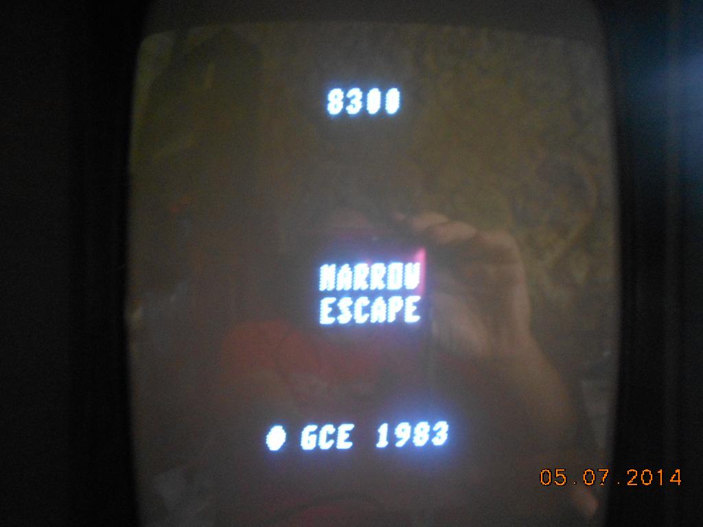 3D Narrow Escape 8,300 points