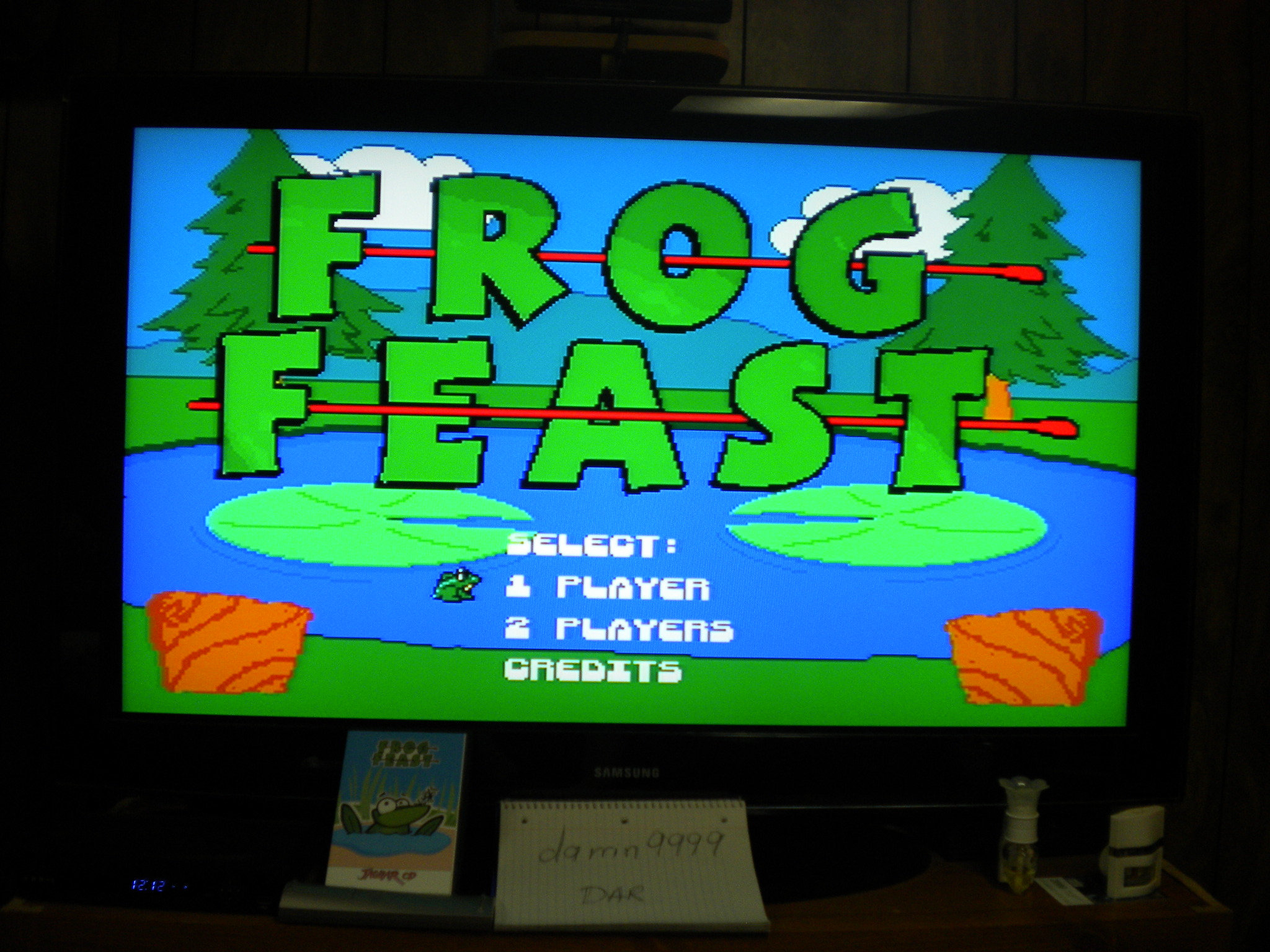 Frog Feast 30 points