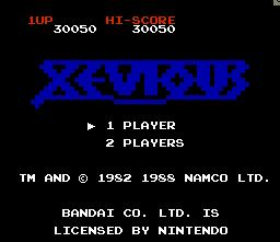 Beerman: Xevious (NES/Famicom Emulated) 30,050 points on 2014-07-12 14:38:30