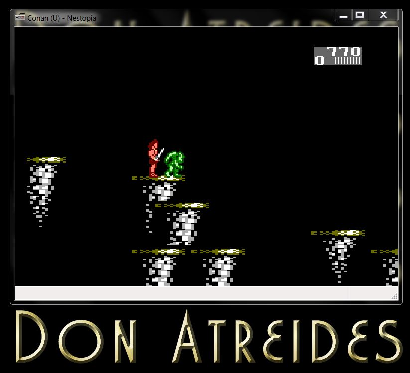 DonAtreides: Conan: The Mysteries of Time (NES/Famicom Emulated) 770 points on 2014-07-12 16:21:21