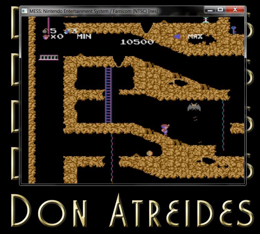 DonAtreides: Spelunker (NES/Famicom Emulated) 10,500 points on 2014-07-12 18:54:20