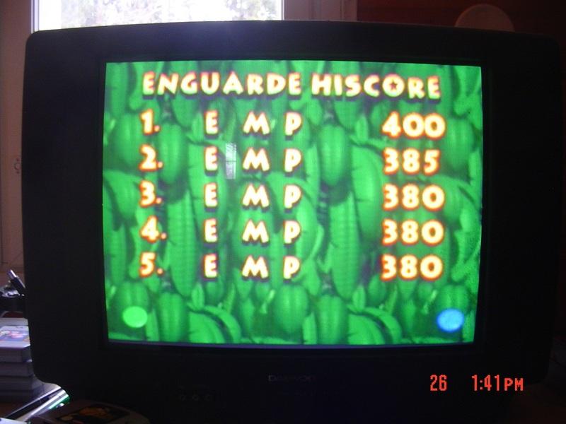Donkey Kong 64: Enguarde Arena 400 points