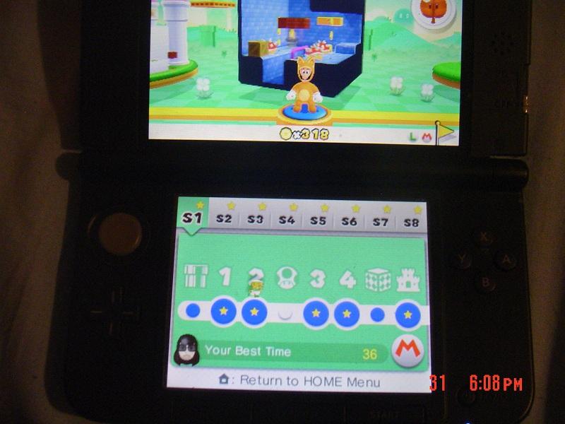 Super Mario 3D Land: Special 1-2 [Best Time] 36 points
