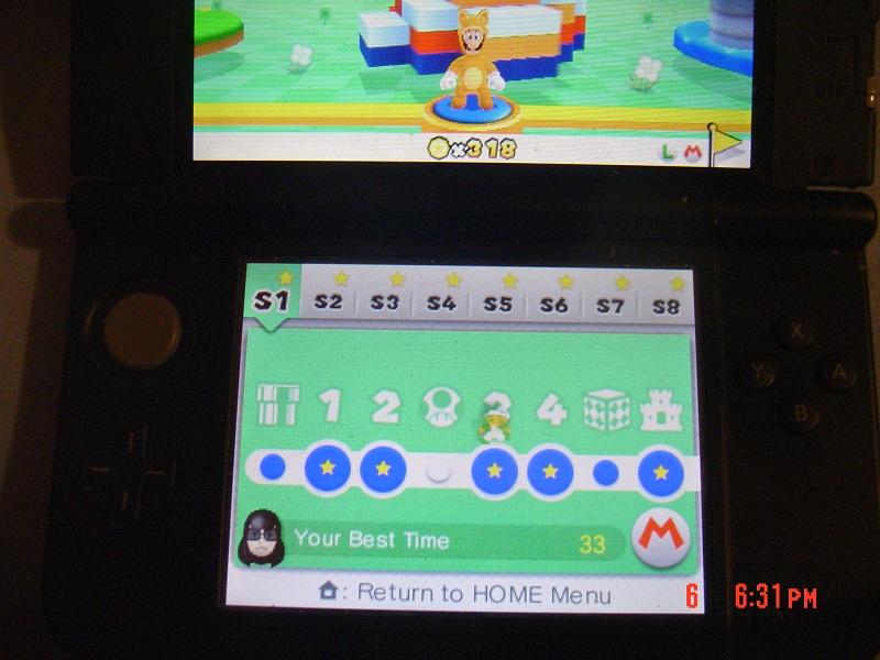 Super Mario 3D Land: Special 1-3 [Best Time] 33 points