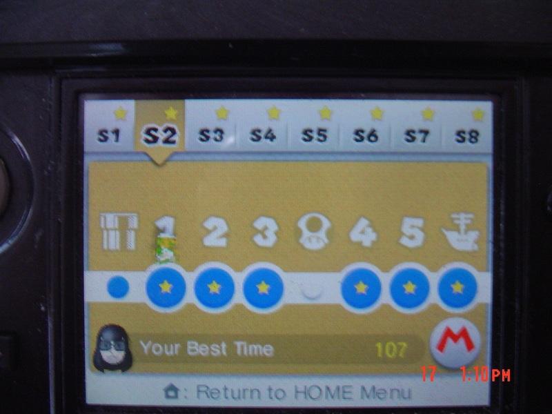 Super Mario 3D Land: Special 2-1 [Best Time] 107 points