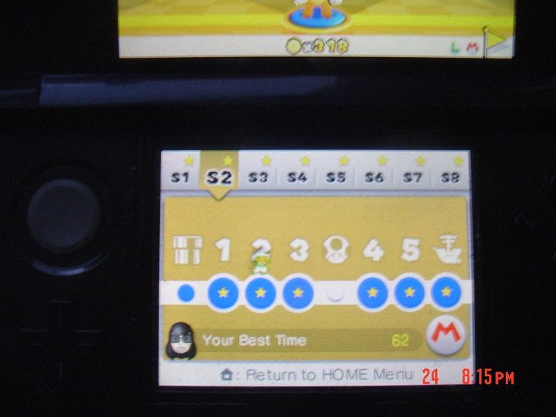 Super Mario 3D Land: Special 2-2 [Best Time] 62 points
