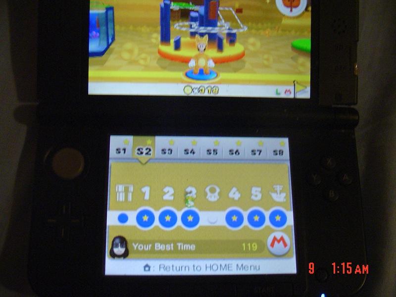 Super Mario 3D Land: Special 2-3 [Best Time] 119 points