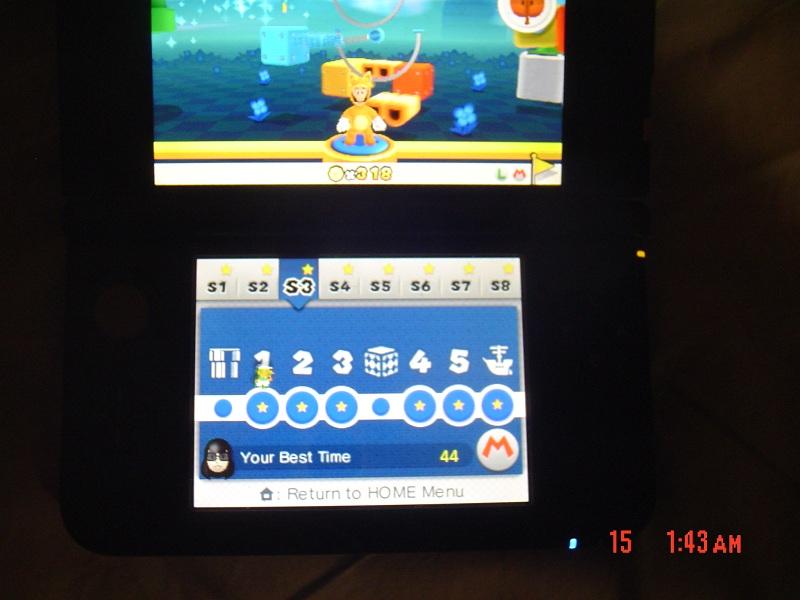 Super Mario 3D Land: Special 3-1 [Best Time] 44 points
