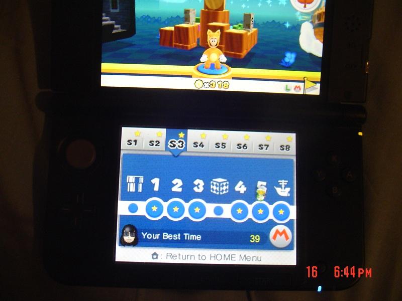 Super Mario 3D Land: Special 3-5 [Best Time] 39 points