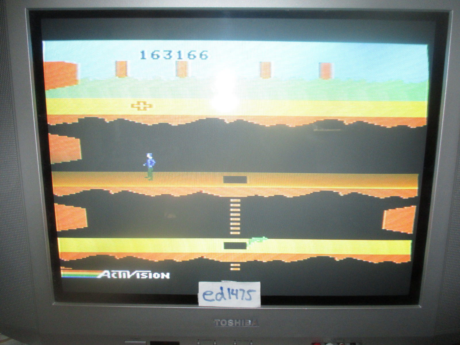 ed1475: Pitfall II: Lost Caverns (Colecovision) 163,166 points on 2014-07-13 21:15:17