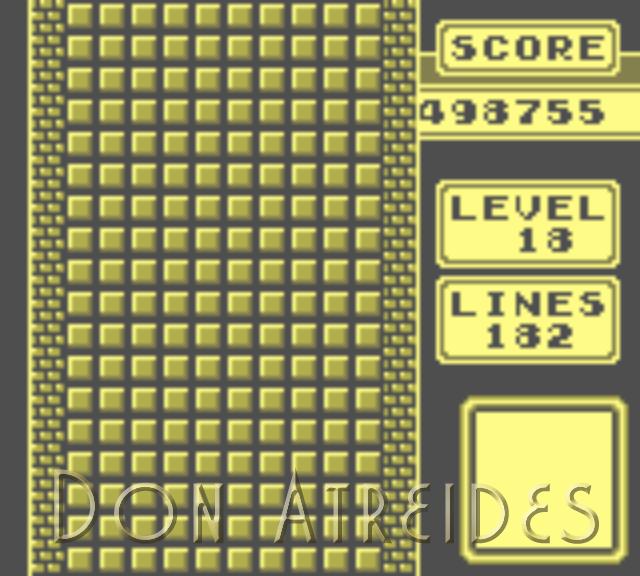 DonAtreides: Tetris [Points] (Game Boy Emulated) 498,755 points on 2014-07-13 21:42:06