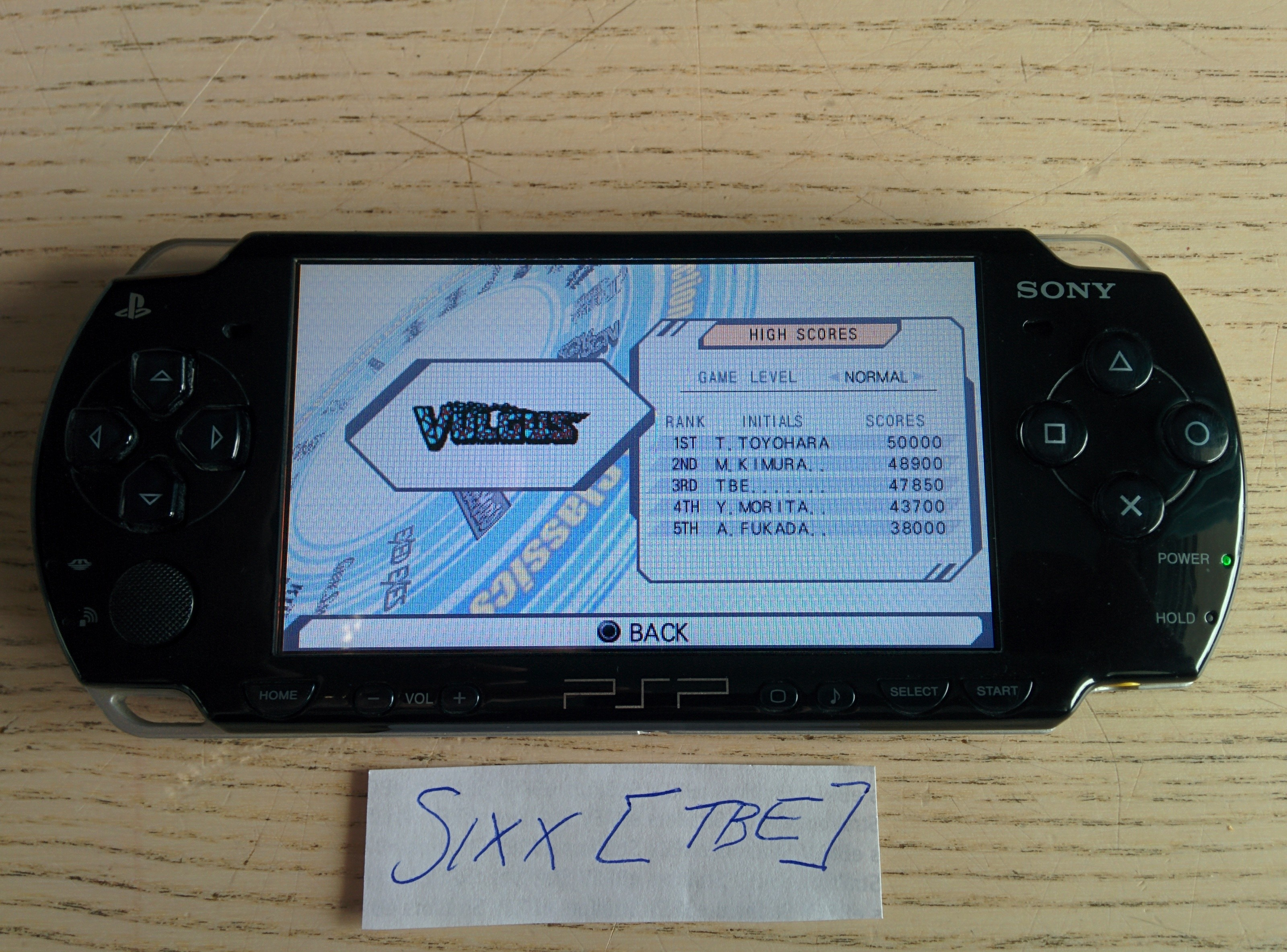 Sixx: Capcom Classics Collection Reloaded: Vulgus (PSP) 47,850 points on 2014-07-14 03:01:28