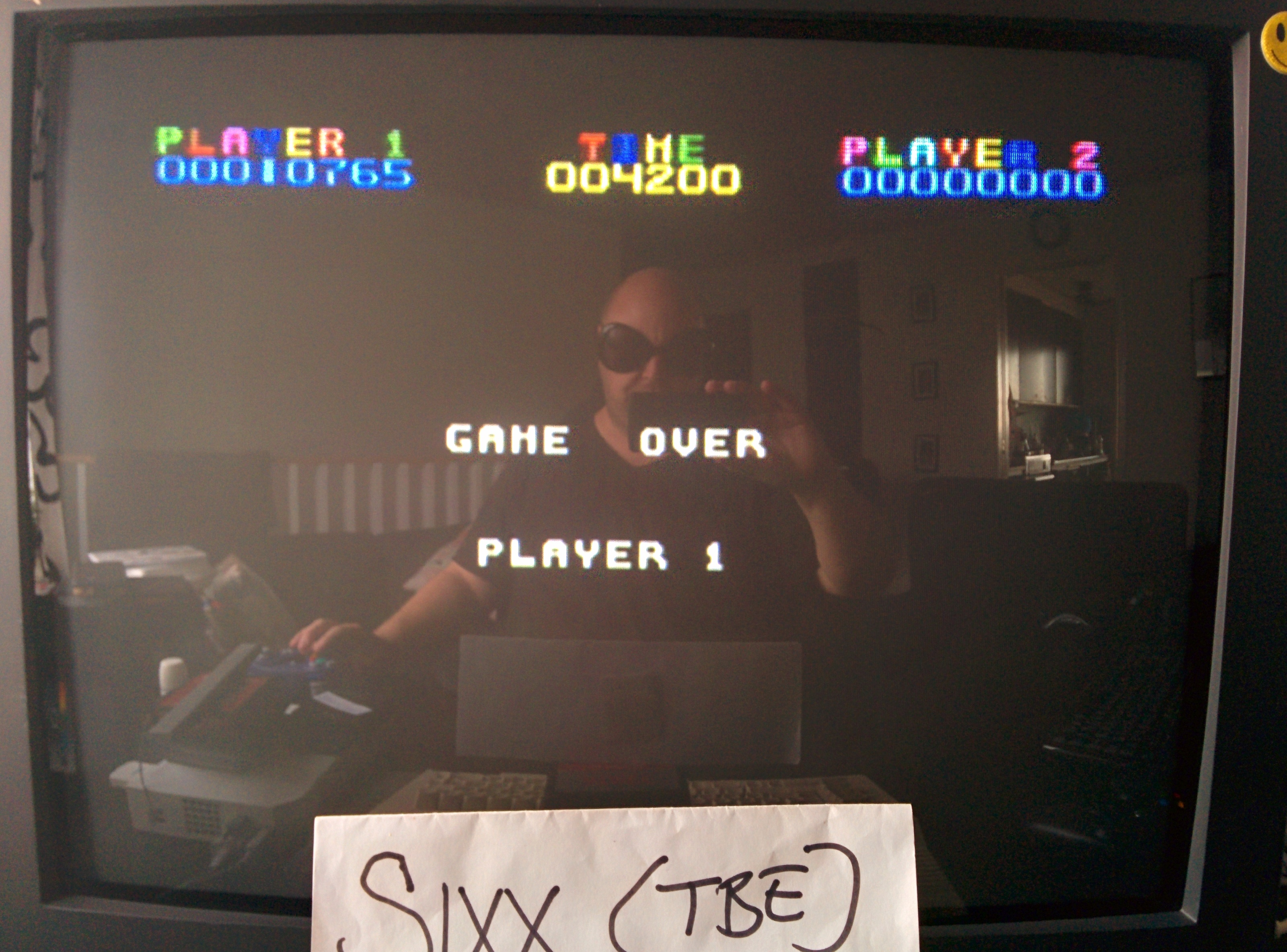 Sixx: Miner 2049er (Colecovision Emulated) 10,765 points on 2014-07-14 13:10:49