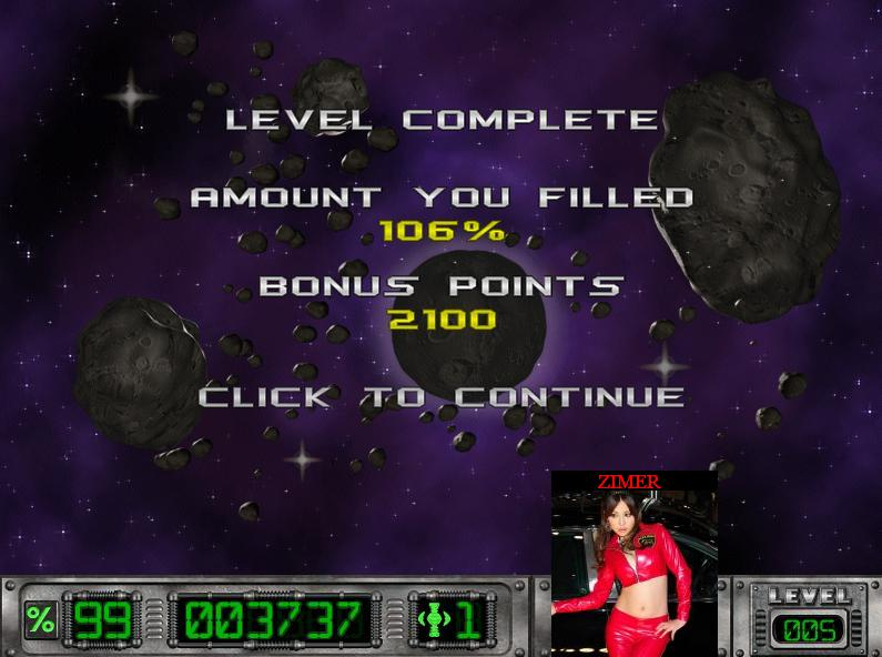Zimer: Cosmic Bugs: Level 005 [Percentage] (PC) 106 points on 2014-07-14 20:19:08