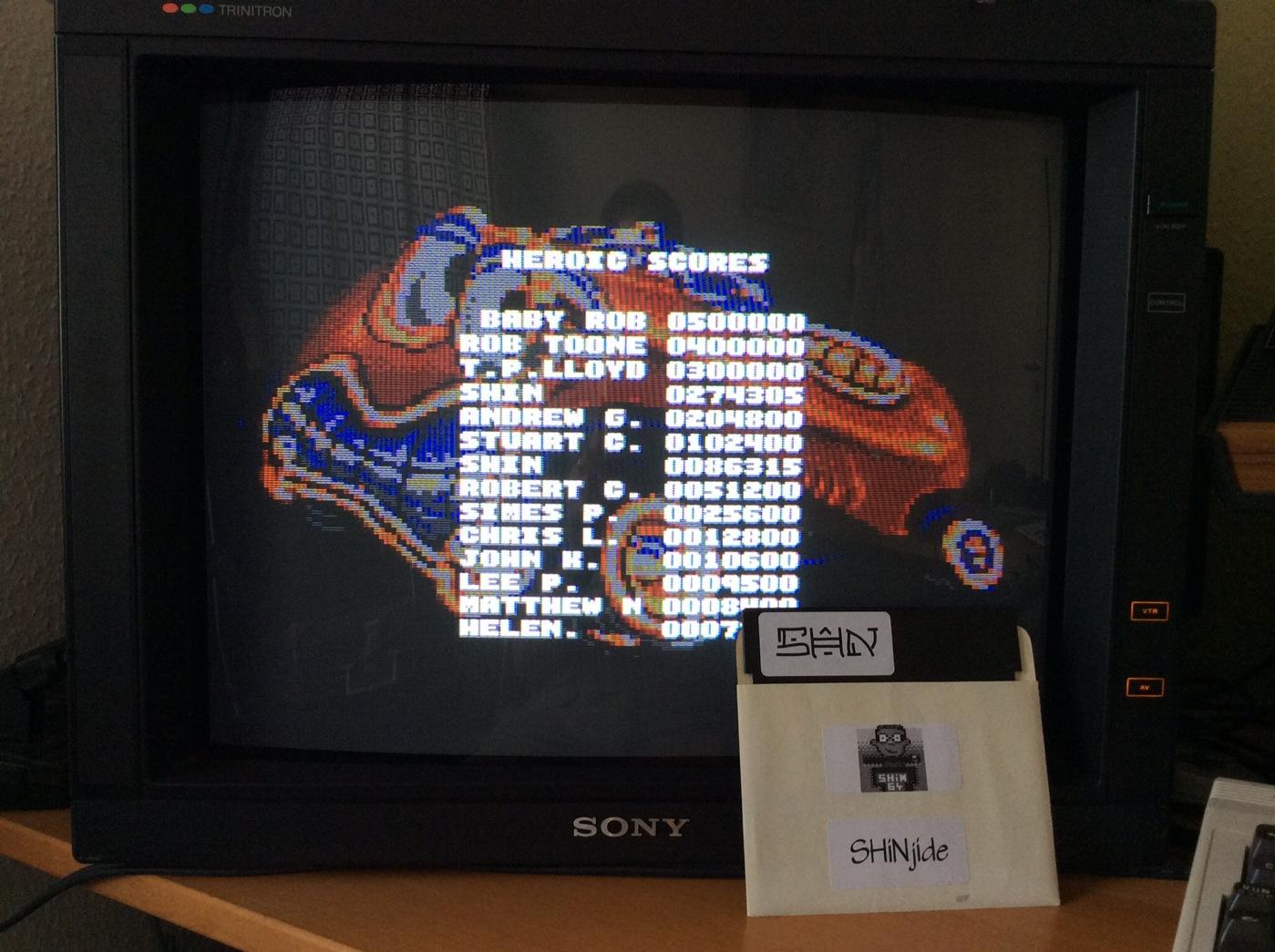 SHiNjide: Car-Vup (Amiga) 274,305 points on 2014-07-15 05:38:07