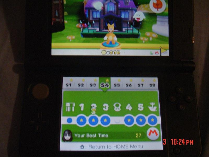 Super Mario 3D Land: Special 4-2 [Best Time] 27 points