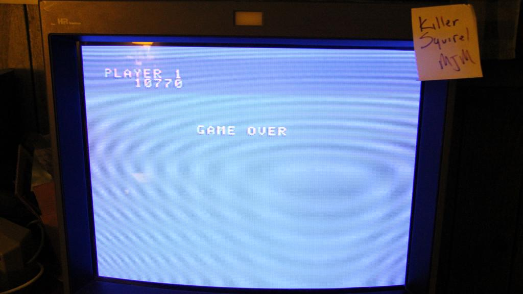 killersquirel: Up N Down (Colecovision) 10,770 points on 2013-09-30 23:45:41
