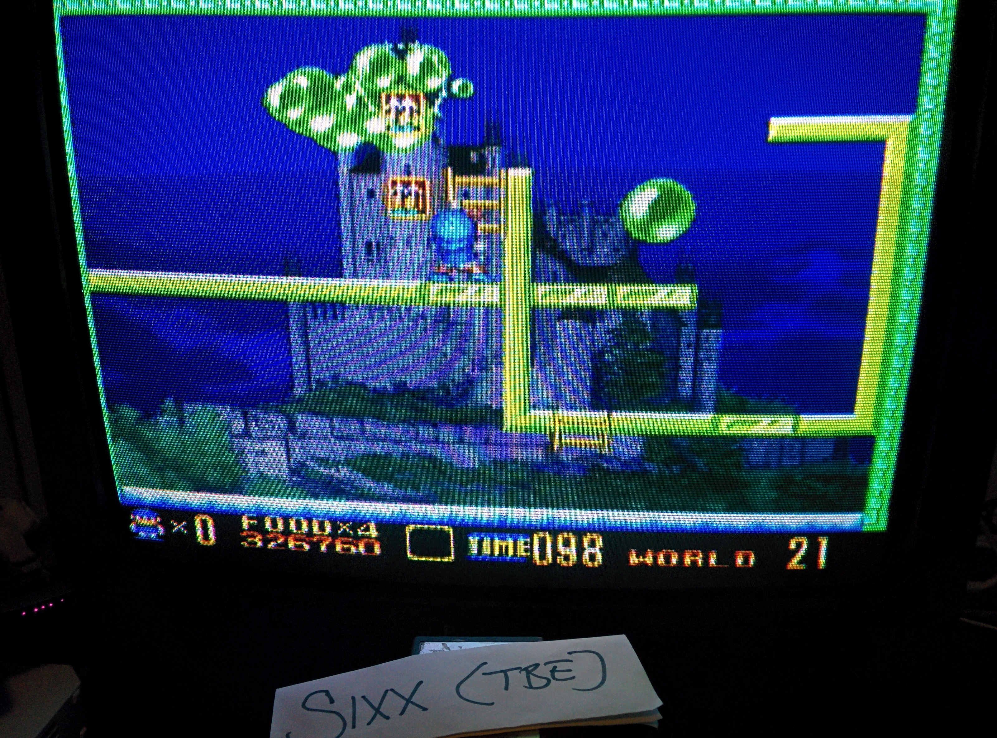 Sixx: Super Buster Bros: Tour Mode [Normal] (SNES/Super Famicom Emulated) 326,760 points on 2014-07-15 18:54:19