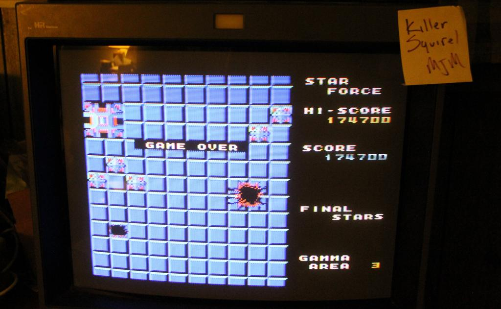 killersquirel: Star Force (Colecovision) 174,700 points on 2013-09-30 23:48:39