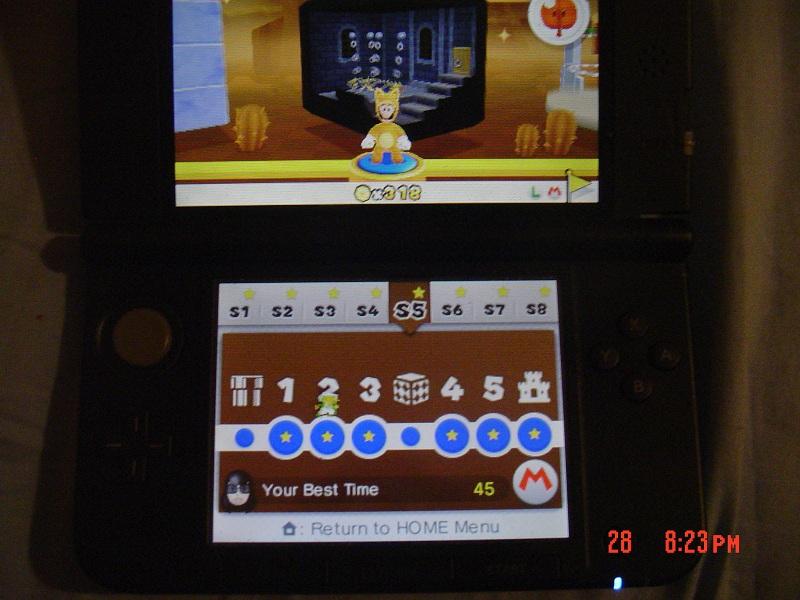 Super Mario 3D Land: Special 5-2 [Best Time] 45 points