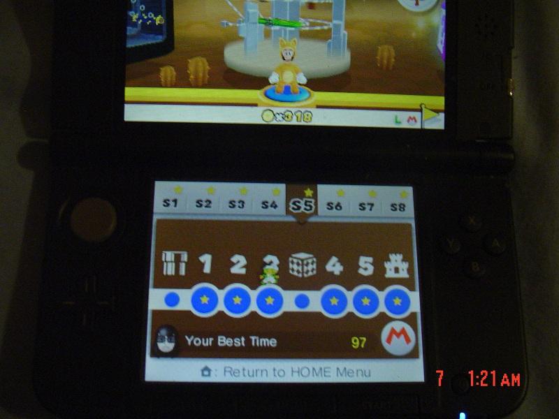 Super Mario 3D Land: Special 5-3 [Best Time] 97 points