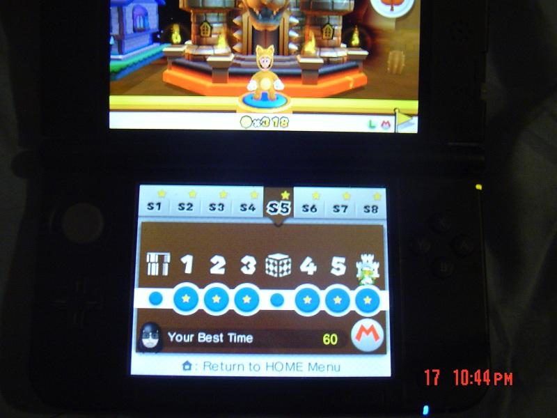 Super Mario 3D Land: Special 5-Castle [Best Time] 60 points