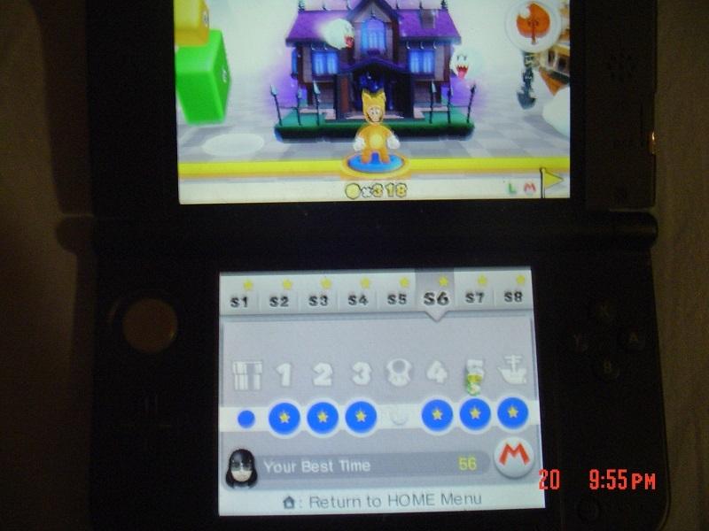 Super Mario 3D Land: Special 6-5 [Best Time] 56 points
