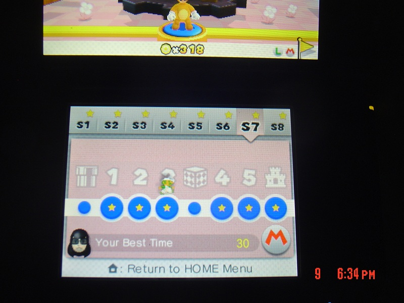 Super Mario 3D Land: Special 7-3 [Best Time] 30 points
