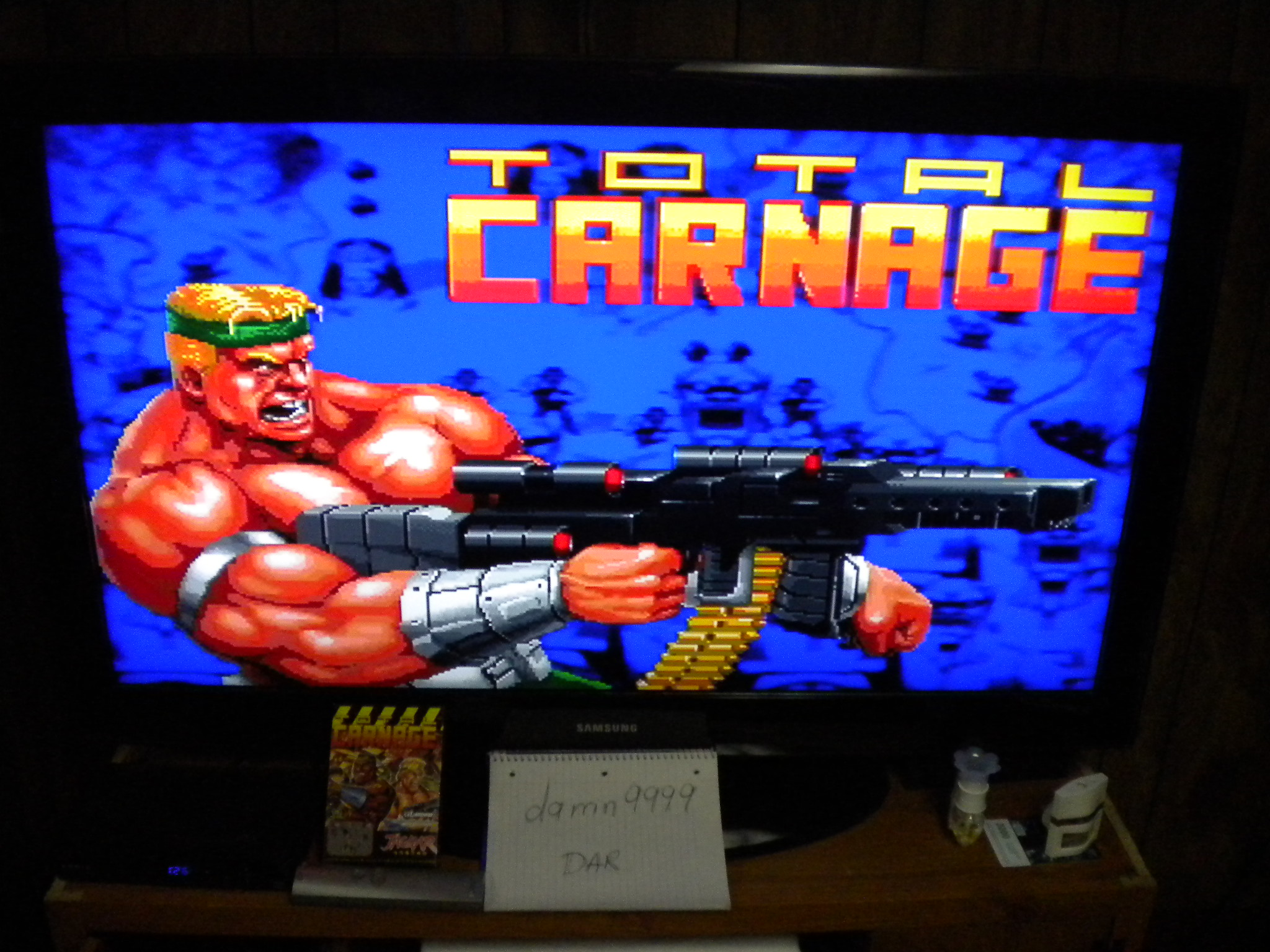 Total Carnage 4,552 points
