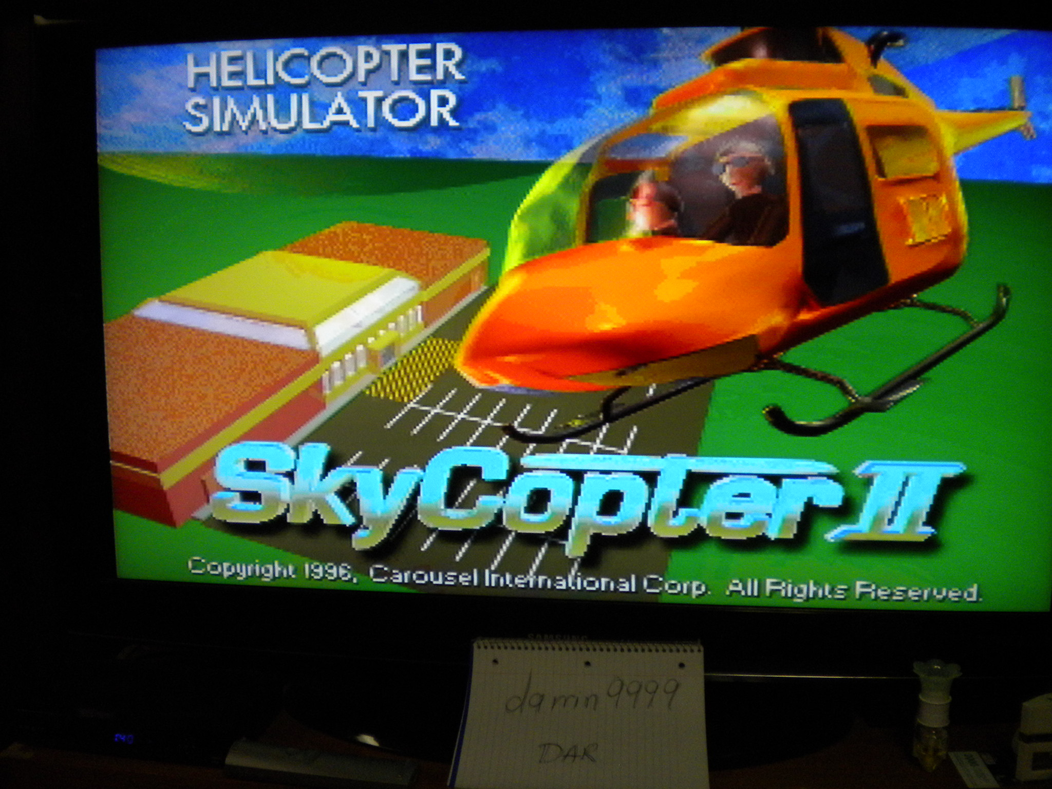 Sky Copter II 640 points