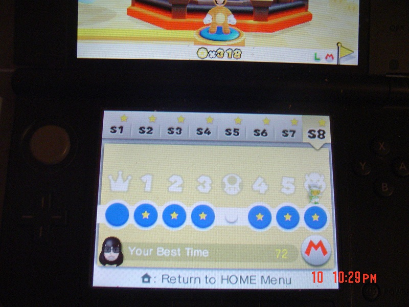 Super Mario 3D Land: Special 8-Bowser [Best Time] 72 points