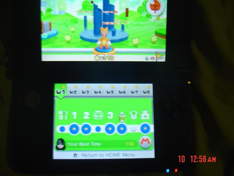 Super Mario 3D Land: World 1-4 [Best Time] 116 points