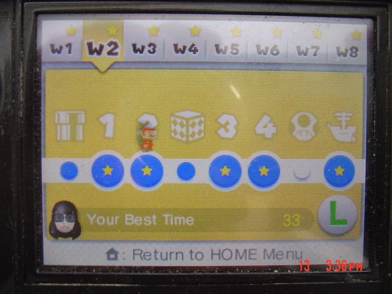 Super Mario 3D Land: World 2-2 [Best Time] 33 points