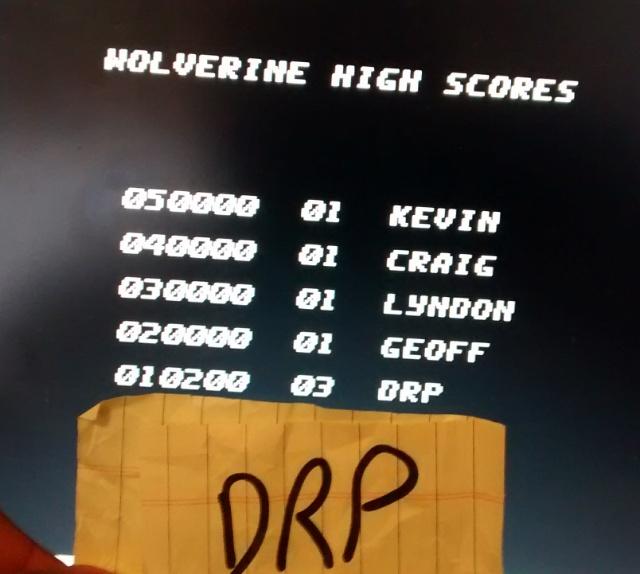 Wolverine 10,200 points