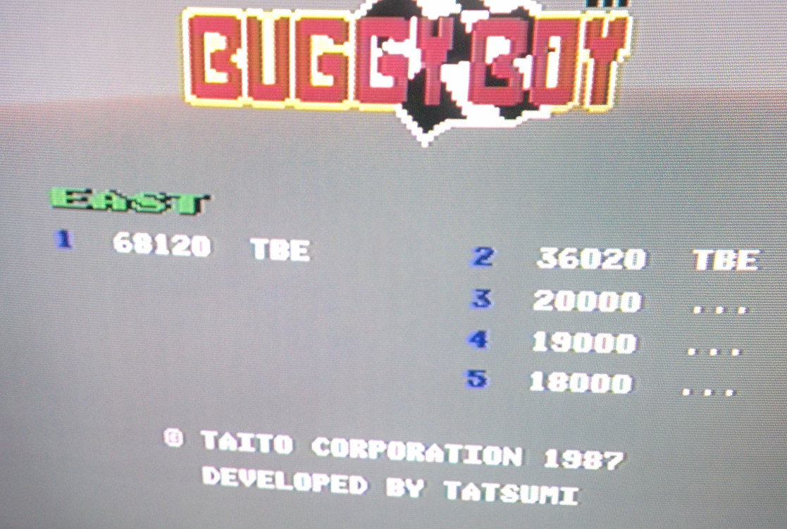 Sixx: Buggy Boy: East (Commodore 64) 68,120 points on 2014-07-16 17:07:56