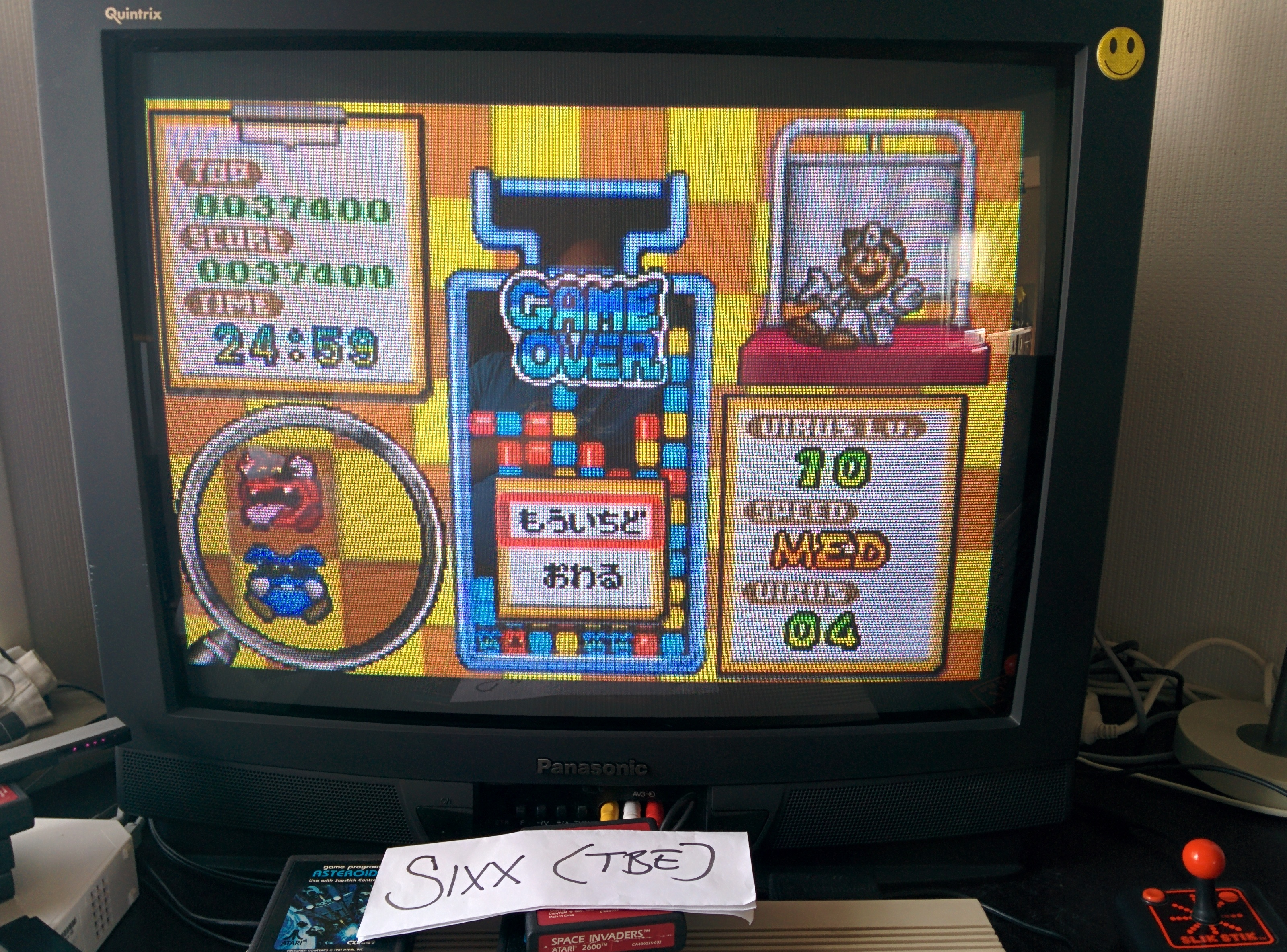 Sixx: Dr. Mario: Level 00 [Med] (GBA Emulated) 37,400 points on 2014-07-17 08:38:34