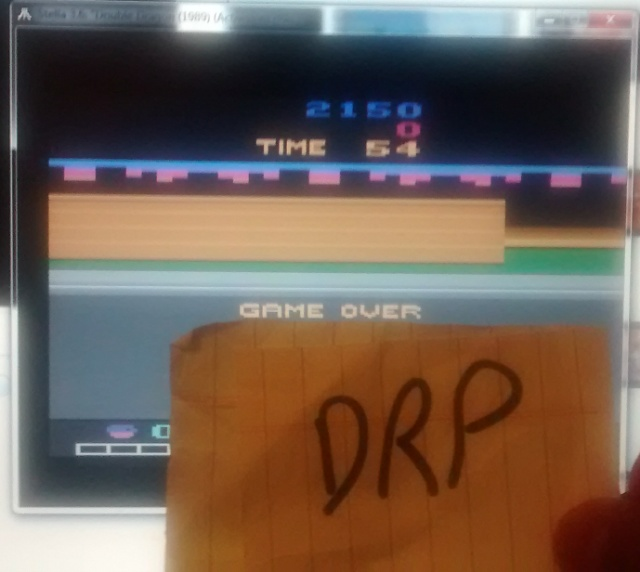 Scootablue: Double Dragon (Atari 2600 Emulated) 2,150 points on 2014-07-18 01:46:59